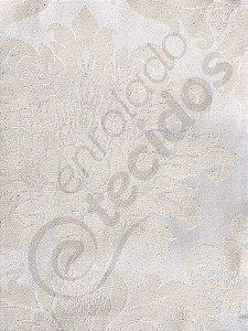 Tecido Jacquard Palha Crú (rústico) Medalhão ou Listrado 2,80m de Largura