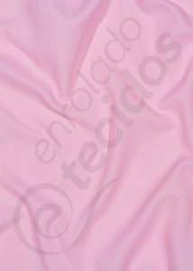 Tecido Oxford Importado Rosa Bebê Liso 3,0m de Largura