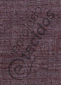 Tecido Jacquard Estampado Liso Marrom Escuro 1,40m de Largura