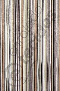 Tecido Jacquard Estampado Listrado Bege e Cinza 1,40m de Largura