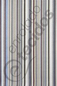 Tecido Jacquard Estampado Listrado Azul e Cinza 1,40m de Largura