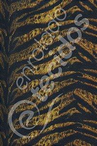 Tecido Gorgurinho Tigre 1,50m de Largura
