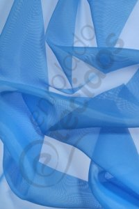 Tecido Voil Azul Celeste 3,0m de Largura