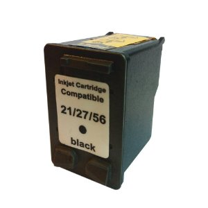 Cartucho de Tinta Compatível HP 21/27/56 Preto 18ml