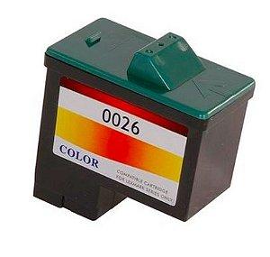 Cartucho de Tinta Lexmark 26 10N0026 Colorido | Compatível 9ml
