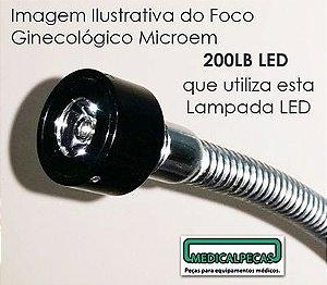 Lâmpada Led  Foco Microem modelo 200LB LED e 200L LED