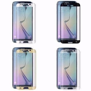 Película Protetora de Tela Feita em Vidro Temperado para Celular Samsung Galaxy S6 Edge Plus SM-G928 Curvada