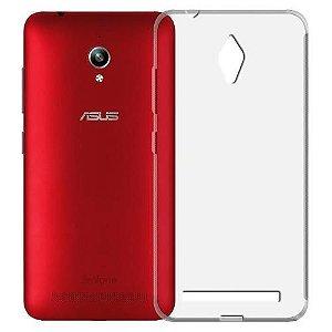 Capas para Celular Asus Zenfone Go Tela de 5 Tpu Silicone Transparente ou Fumê