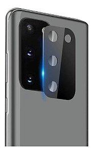 Película de Vidro 3D Com Proteção de Câmera Linha SAMSUNG