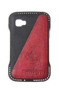 Capas para Celular LG Optimus L4 II E465-E467-E470 Emborrachada Ferrari Cor Vermelha