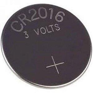 Bateria CR2016 de Lithium Cartela com 5 Unidades