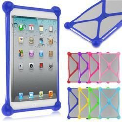 Capa para Tablet Bumper Emborrachada Universal 9 e 10 Polegadas Cores Sortidas