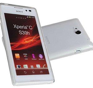 Capas para Celular Sony Xperia C C2304-C2305-S39H-S39C Tpu Silicone Transparente ou Fumê