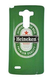 Capas para Celular LG G3 D855 Tpu Silicone Estampa Heineken