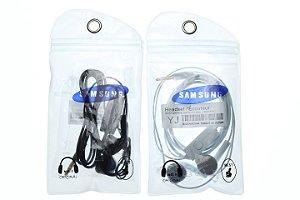 Fone de Ouvido Samsung Branco ou Preto no Saquinho