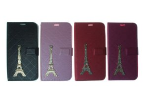 Capas Carteira para Celular LG K7 Torre de Paris Cores Variadas