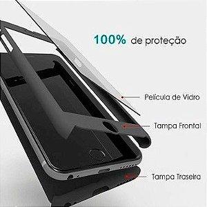 Capa 360º Frente e Verso com Película para iPhone 5-5s Cores Diversas