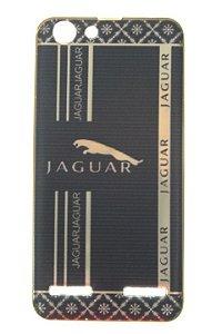 Capas para Celular Lenovo Vibe K5 Silicone Luxo Estampa Jaguar Borda Pintura Dourada