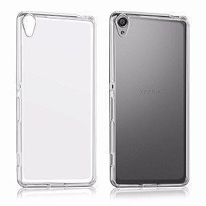 Capas para Celular Sony Xperia XA Tpu Silicone Transparente ou Fumê