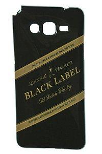 Capas para Celular Samsung Galaxy Gran Prime G530H/BT Tpu Silicone Estampa Black Label