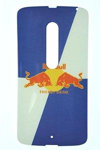 Capas para Celular Motorola Moto X Play XT-1563 Silicone Estampa Red Bull