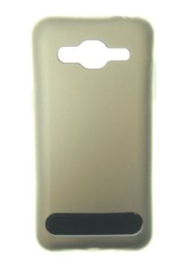 Capas para Celular Samsung Galaxy J2 SM-J200BT Anti Impacto Metal Cor Dourado