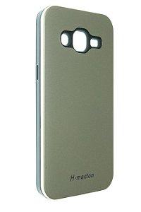 Capas para Celular Samsung Galaxy J2 SM-J200BT Anti Impacto Cor Dourado