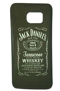 Capas para Celular Samsung Galaxy S7 Silicone Estampa Jack Daniels