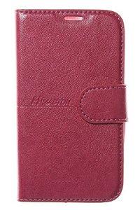 Capas Carteira para Celular Alcatel Pixi 4 3.5 Cor Pink