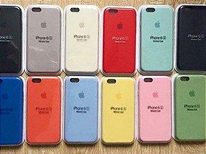 Capas para Celular Linha Apple Iphone Emborrachada 1ª Linha Qualidade Original Cores Sortidas