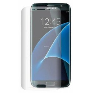 Película Protetora de Tela Feita em Vidro Temperado para Celular Samsung Galaxy S7 Edge SM-G935 Curvada