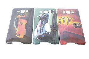 Capas para Celular Samsung Galaxy A7 Silicone Estampas Masculinas Sortidas