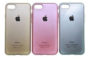 Capas para Celular IPhone 5-5S Silicone com Logo Cores Sortidas