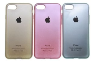 Capas para Celular IPhone 6-6S Silicone com Logo Cores Sortidas