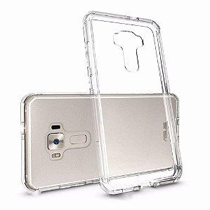 Capas para Celular Asus ZenFone 3 ZE552KL Tela de 5.5 Tpu Silicone Transparente ou Fumê