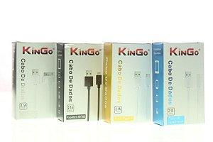 Cabo de Dados Kingo USB-V8 Micro USB