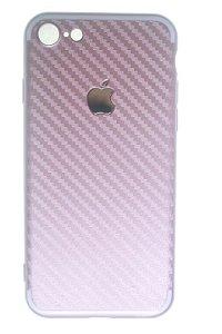 Capas para Celular IPhone 7 Silicone Rosê