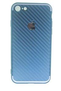 Capas para Celular IPhone 7 Silicone Azul