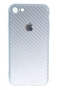 Capas para Celular IPhone 6-6s Silicone Prata
