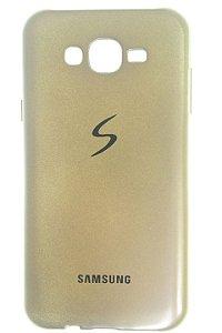 Capas para Celular Samsung Galaxy J7 SM-J700 Silicone Dourada