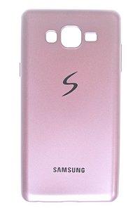 Capas para Celular Samsung Galaxy J7 SM-J700 Silicone Rosê