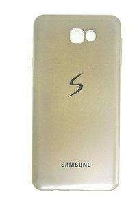 Capas para Celular Samsung Galaxy J7 Prime Silicone Dourada