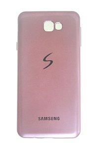 Capas para Celular Samsung Galaxy J7 Prime Silicone Rosê