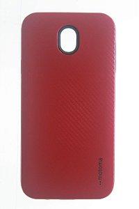 Capas para Celular J7 Pro Anti Impacto Motoma na cor Vermelha
