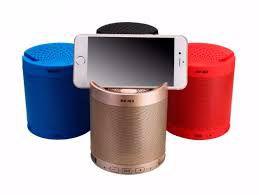 Mini Caixa de Som Bluetooth-MP3--SD-USB-Dock Station HF-Q3