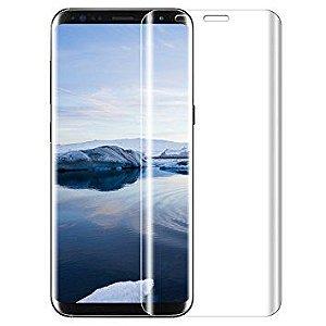 Película de Vidro Curvada Transparente para Celular S8 Plus