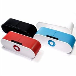 Mini Speaker Caixa de Som Bluetooth-FM-MP3 Modelo S207 Cores Sortidas