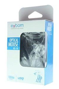 Mouse Ótico USB EXBOM