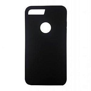 Capinha de Celular iPhone 7 Plus Silicone Preta