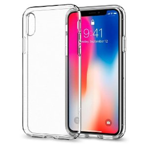 Capinha de Celular iPhone X TPU Silicone Transparente